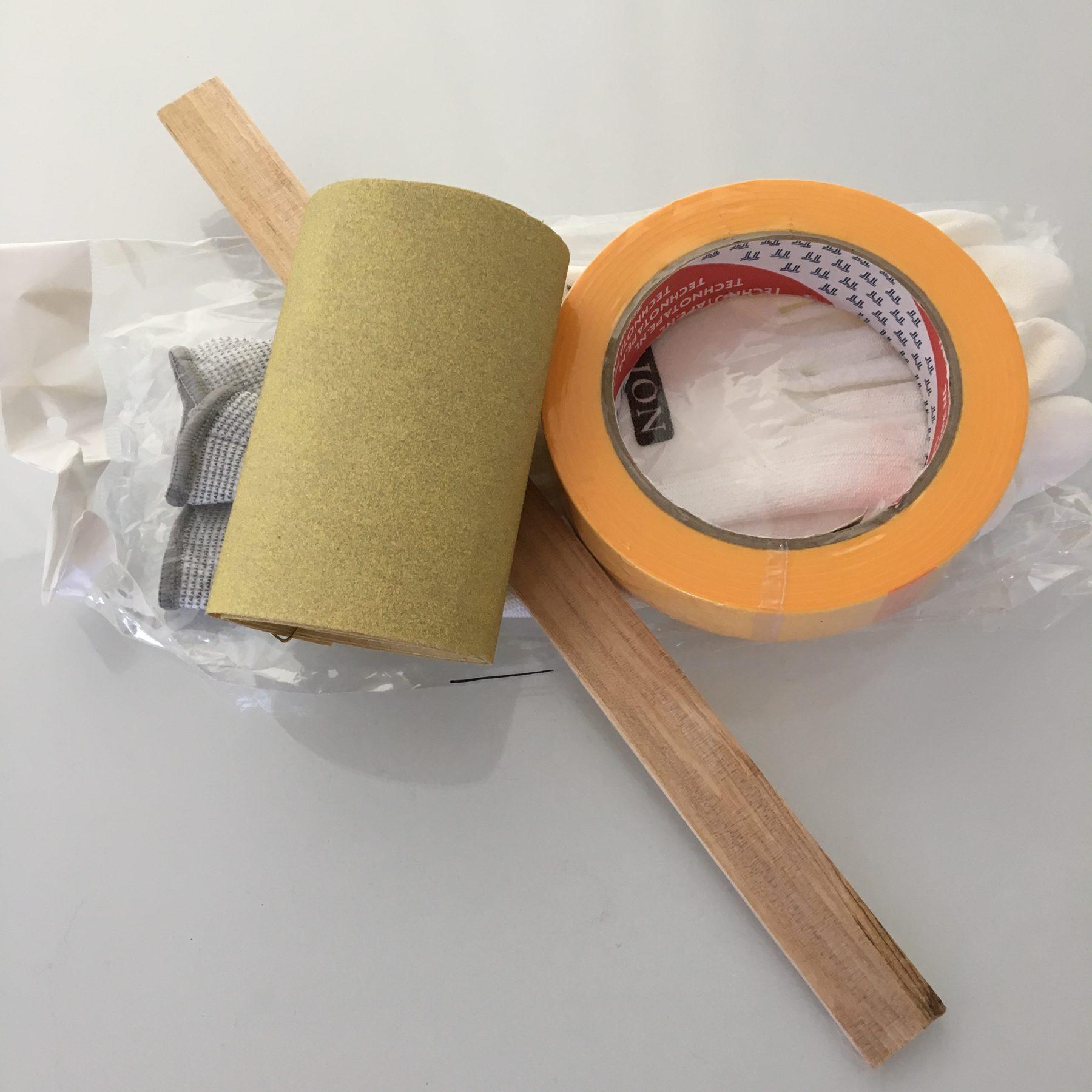 Basic schilderpakket met rol schuurpapier