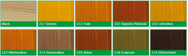 Kleuren-perkoleum-transparant Schilder met SPAN