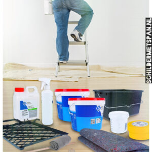 Stel zelf je schilderpakket samen: Hout schilderen binnen